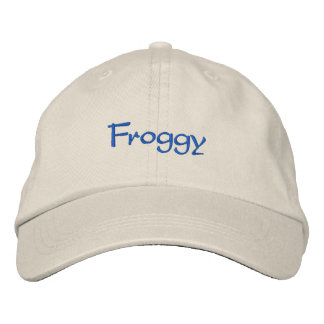 Froggy Embroidered Baseball Caps