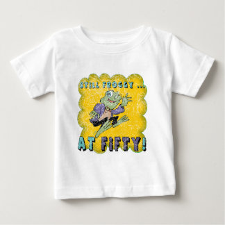 Froggy Fifty 50th Birthday Gifts Baby T-Shirt