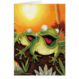 Froggy Friends Card