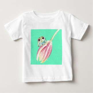 Froggy green baby T-Shirt