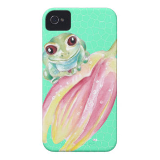Froggy green iPhone 4 cases