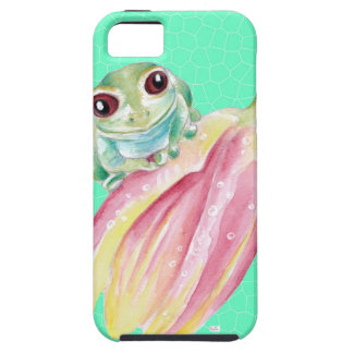 Froggy green iPhone 5 cases