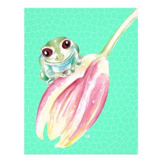 Froggy green letterhead