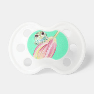 Froggy green pacifier