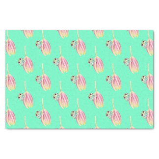 Froggy green tissue paper