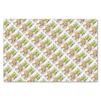 Froggy Love Valentine Gift Wrap Tissue Paper