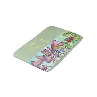 Froggy Reading Storybook, Keep Calm Froggy On Bath Mat