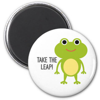 Froggy Round Magnet