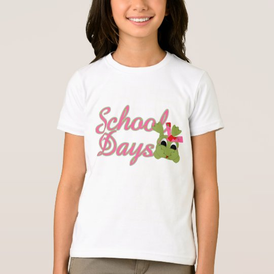Froggy School Days pink T-Shirt