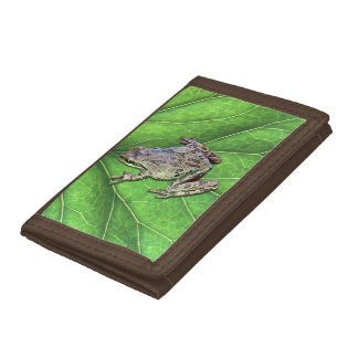 FROGGY TRIFOLD WALLET