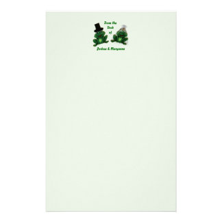 Froggy Wedding - Stationary Personalized Stationery