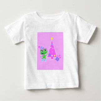 froggy with tree screen baby T-Shirt