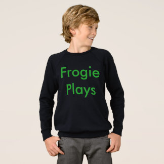 Frogie Plays Sweatshirt