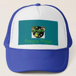 Frogie Plays trucker hat