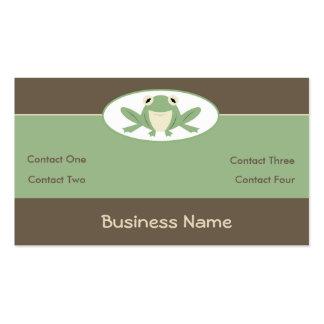 Froglet Business Cards