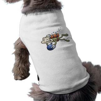 Frogman Doggie T-shirt