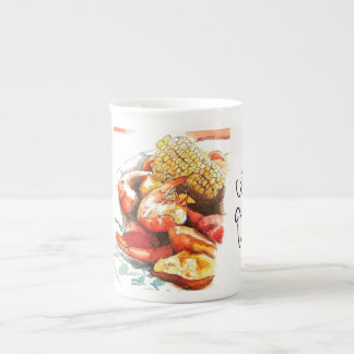 Frogmore Stew on Bone China Tea Cup