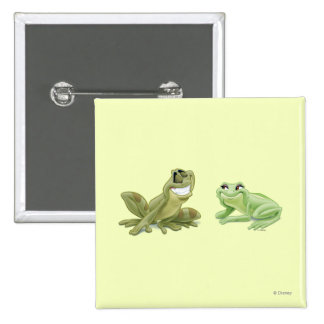 Frogs 2 Inch Square Button