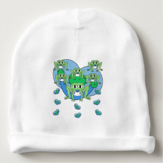 Frogs Baby Knit Hat Baby Beanie