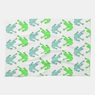 Frogs Kitchen Towel