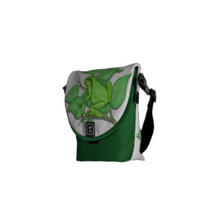Frogs Messenger Bags