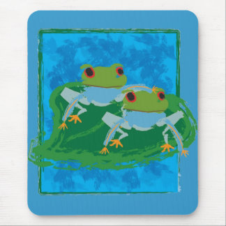 Frogs Mouse Pad