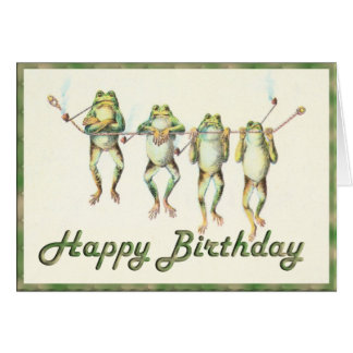 Frogs on a Line Card