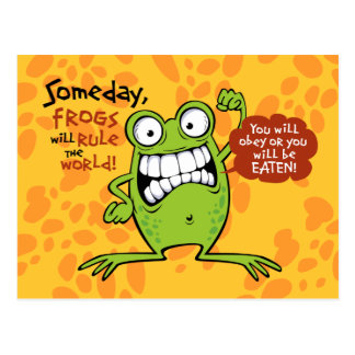 Frogs Rule Postcards
