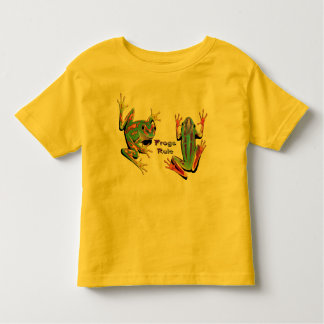 Frogs Rule Toddler T-Shirts