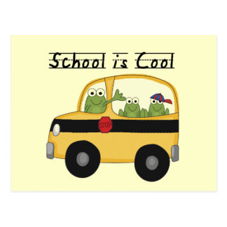 Frogs School is Cool T-shirts and Gifts Postcard
