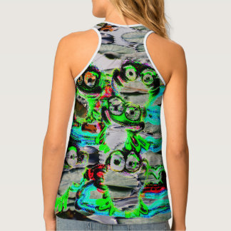 "FROGS Shirt""Love in Summer"" Design Tank Top"