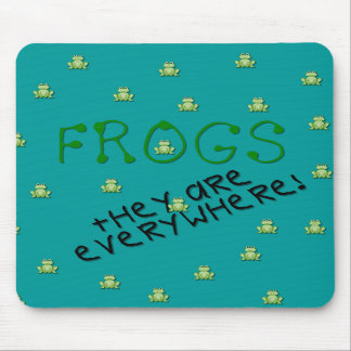 Frogs - They are Everywhere Mousepad