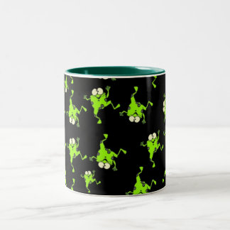 FROGS Two-Tone COFFEE MUG