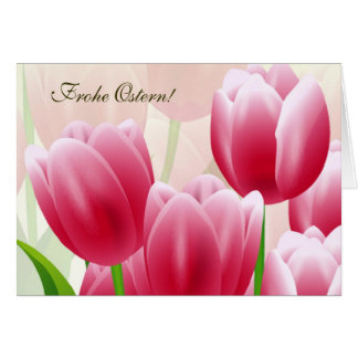 Frohe Ostern Customizable German Easter Card