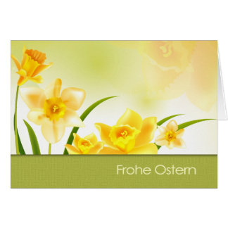 Frohe Ostern German Easter Greeting Card