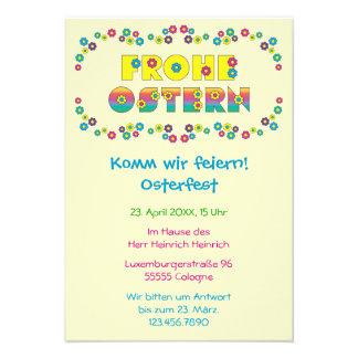 Frohe Ostern Personalized Invite