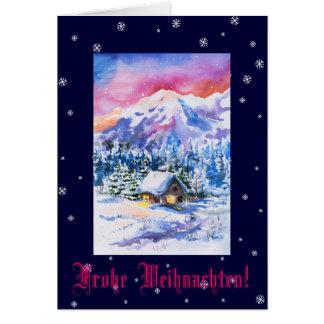 Frohe Weihnachten! Card