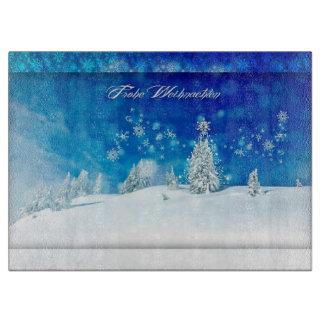 Frohe Weihnachten Cutting Board