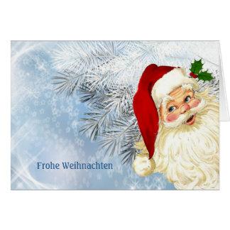 Frohe Weihnachten  - German Christmas Card