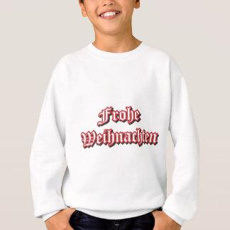 Frohe Weihnachten - Marry Christmas in German Sweatshirt