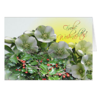 Frohes Fest Karte - German Christmas Card