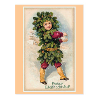 """""""Frohes Weihnachtsfest"""" Vintage Christmas Postcard"""