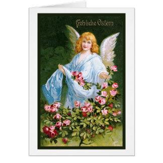 """Frohliche Ostern"" Vintage German Card"
