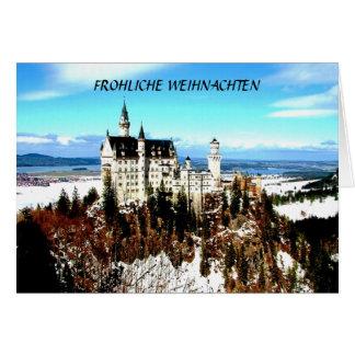 FROHLICHE WEIHNACHTEN...(MERRY CHRISTMAS) CARD