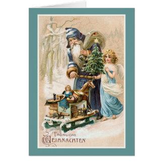 vintage german christmas cards vintage german christmas. Black Bedroom Furniture Sets. Home Design Ideas