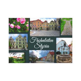 Frohnleiten – One of Styria's prettiest towns Canvas Print