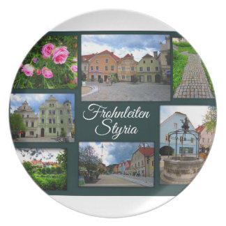 Frohnleiten – One of Styria's prettiest towns Plate