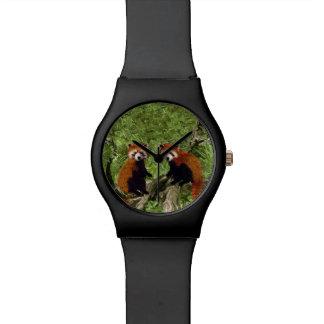 Frolicking Red Pandas Watches