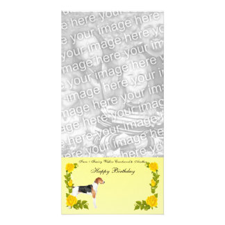 From 1 Treeing Walker Coonhound to Another Personalized Photo Card