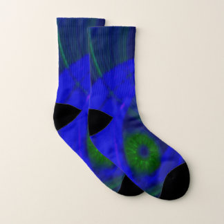 """""""From a Grasshoppers Perspective"""" Designer Socks 1"""